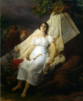 Эмиль-Жан-Орас Верне. Чума в Барселоне