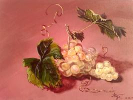 Ekateryna Zabruckaya. Bunch of grapes
