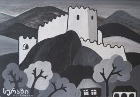 Fortress Surami. Georgia