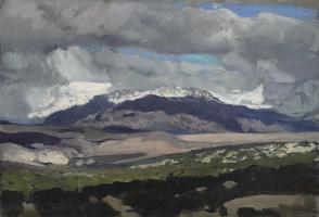 Хоакин Соролья (Соройя). Вид на Педризы со стороны Эль Пардо