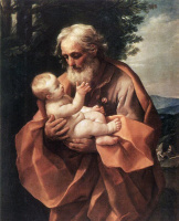 Гвидо Рени. Св. Иосиф и младенец Иисус