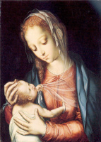 Луис де Моралес. Мадонна с младенцем