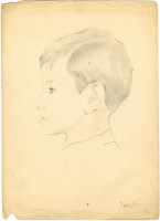 Неизвестный  художник. Портрет сына художника