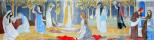 Туве Янссон. Притча о десяти девах. Роспись церкви города Теува