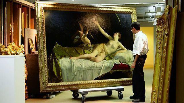 Великолепная «Даная» Джентилески будет выставлена на аукцион за 35 млн долларов