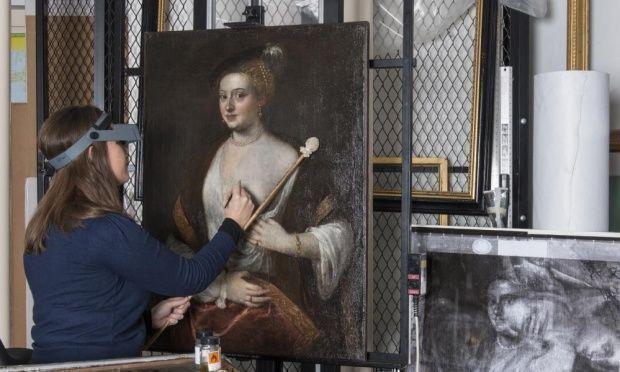 """Картина оказалась подлинником работы Тициана: статус """"любовницы"""" изменился навсегда!"""