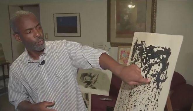 Картина, купленная за $ 90 на блошином рынке в Техасе, может оказаться оригиналом Польке