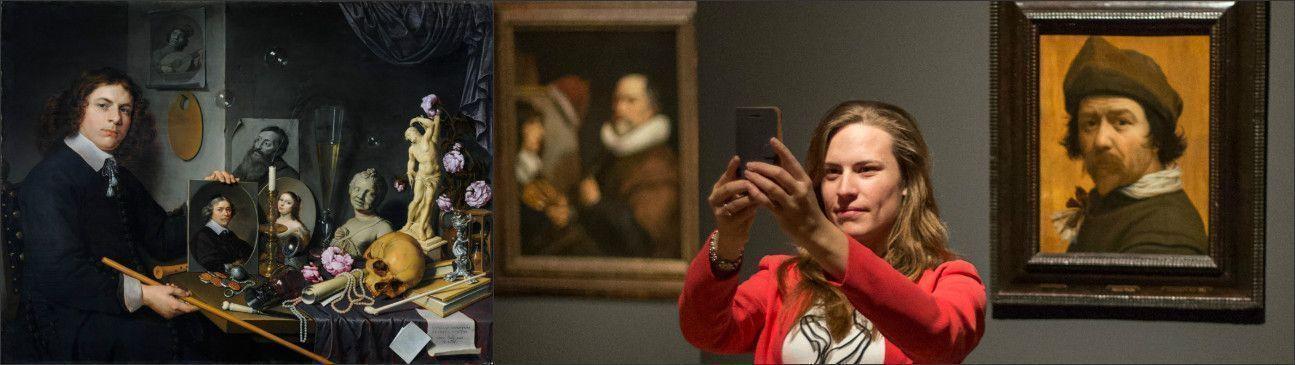 Голландский автопортрет - селфи «Золотого века»! Выставка и конкурс в музее Маурицхёйс