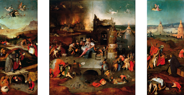 essay on hieronymus bosch Hieronymus bosch [about 1450-1516] was known as one of the most popular and most intriguing artists in history he has such profound pieces of art that still boggle the minds of modern experts.