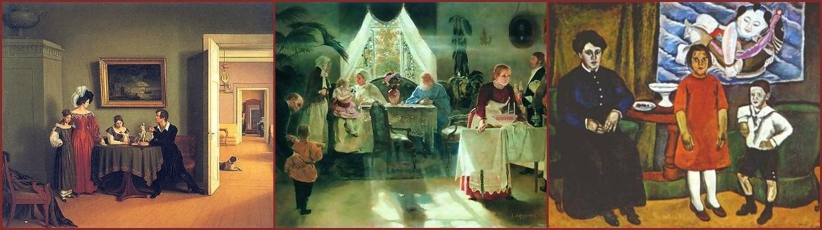 Семейные ценности и картины прошлого и настоящего – в Русском музее.
