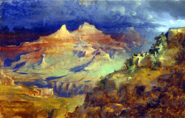 Фрэнк Мейсон. Великий каньон