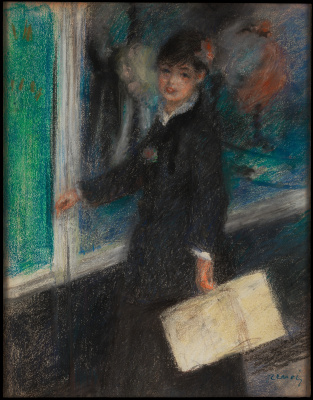 Pierre-Auguste Renoir. A milliner