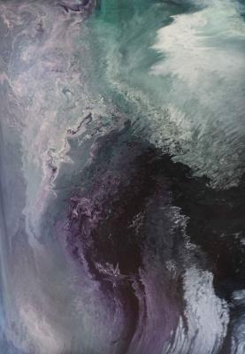 "Alla Struchayeva. The painting ""The soul of Azori"""