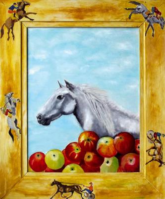 Tatiana Georgievna Kostenko. Grey horse apples