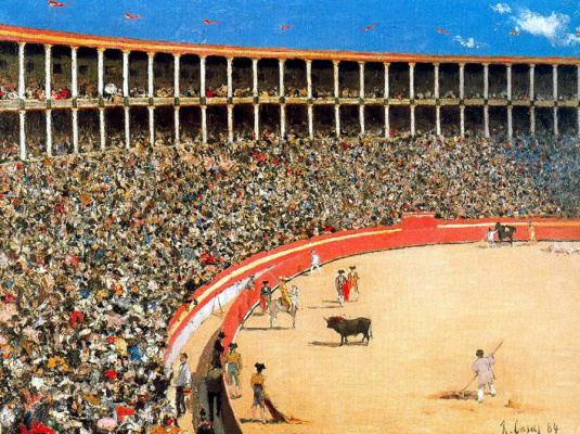 Ramon Casas i Carbó. Bullfighting in Barcelona (Bullfight)