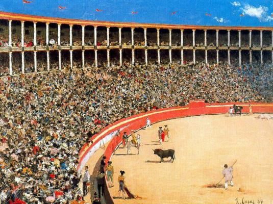 Ramon Casas i Carbó. Bullfighting in Barcelona (Bullfight)