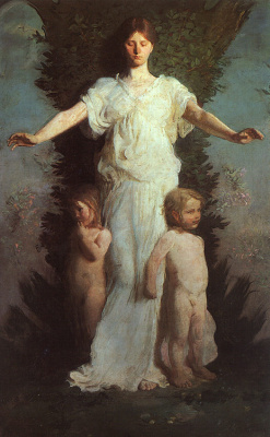 Эббот Хэндерсон Тайер. Маленькие ангелы