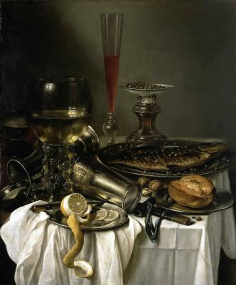 Питер Клас. Завтрак с рыбой