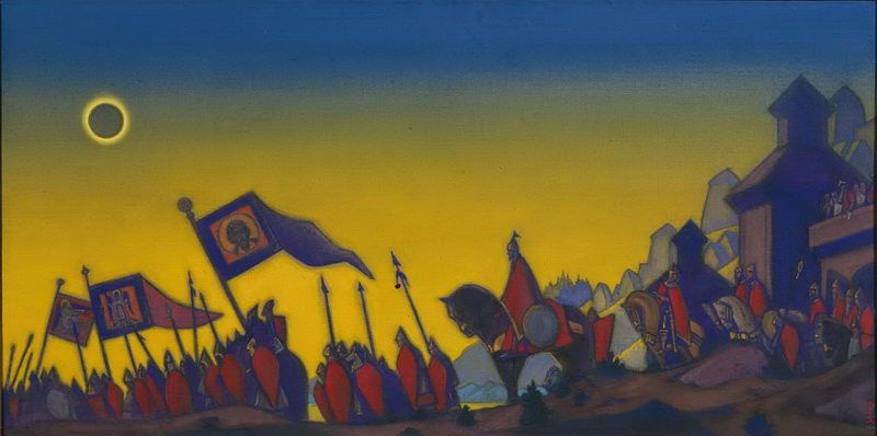 Nicholas Roerich. The word about Igor's Regiment