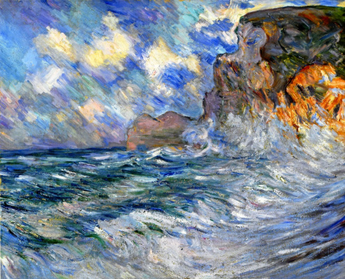 Lila Cabot Perry. Cliffs of Etretat