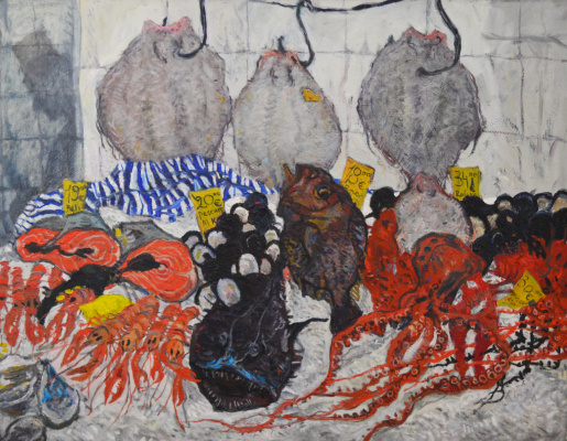 Anastasia Artemova. Fish market