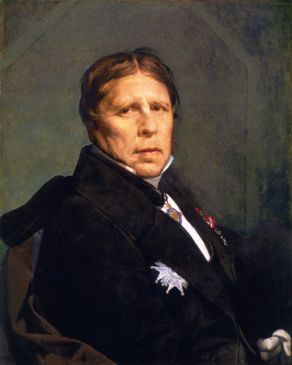 Jean Auguste Dominique Ingres. Self-Portrait