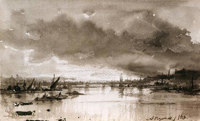 Alexey Petrovich Bogolyubov. Astrakhan. 1863
