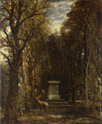 John Constable. Cenotaph. The memory of sir Joshua Reynolds