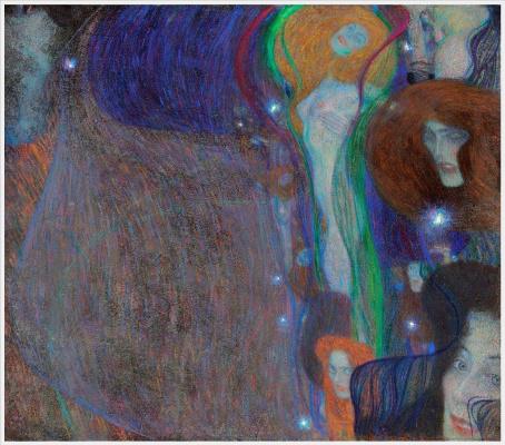 Gustav Klimt. Ghostly lights