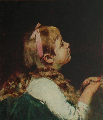 Ilya Efimovich Repin. Head girl. National Art Museum, Riga