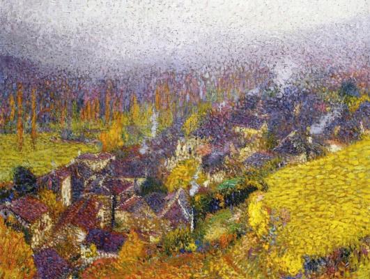 Henri Martin. Autumn