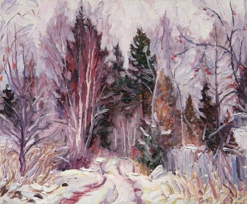 Alexey Vladimirovich Konstantinov. First snow