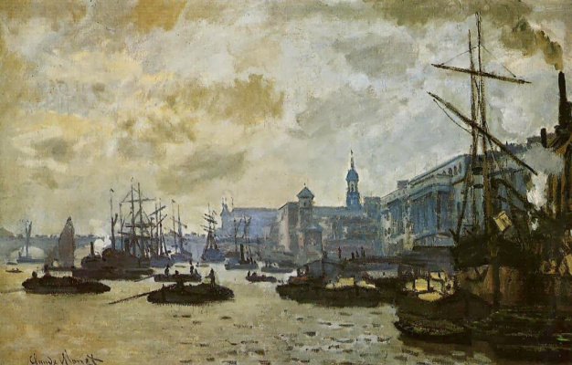Клод Моне. Лондонский порт