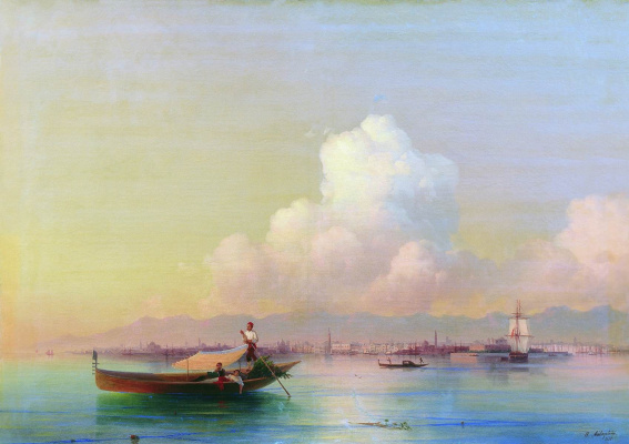 Иван Константинович Айвазовский. Вид Венеции со стороны Лидо