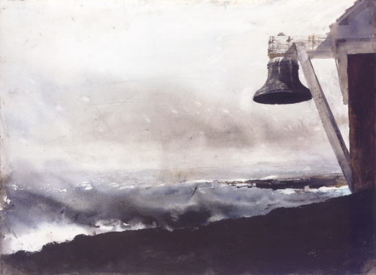 Эндрю Уайет. Ураган в море