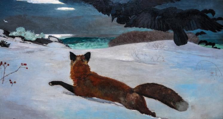 Winslow Homer. Fox hunting