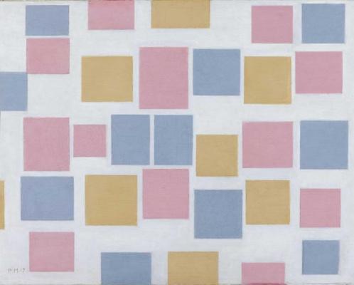 Piet Mondrian. Composition No. 3: color box