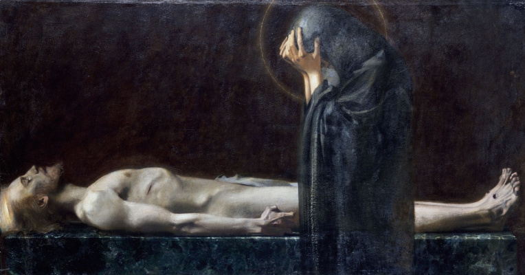 Франц фон Штук. Пьета. 1891