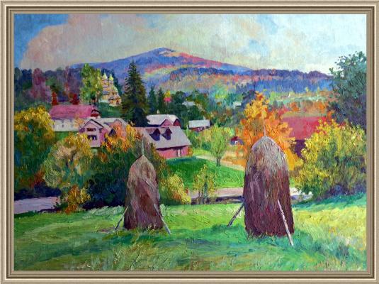 Орел Карпатський. Carpathian autumn