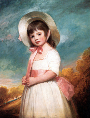 George Romney. Miss Juliana Willoughby