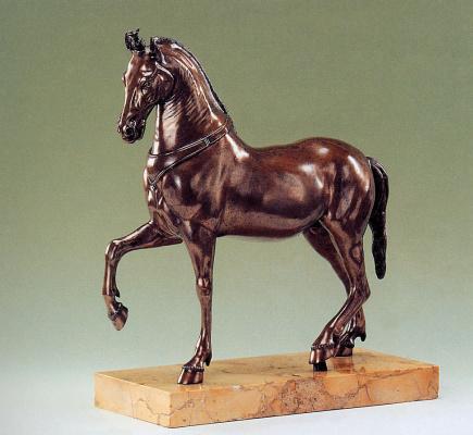 Камилло Падерни. Арабская лошадь
