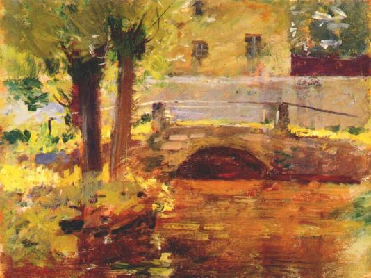 Теодор Робинсон. Мост в Живерни