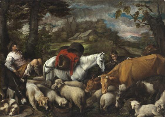 Jacopo da Ponte Bassano. Pastoral
