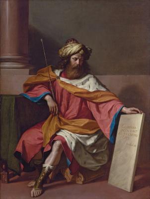 Giovanni Francesco Guercino. King David
