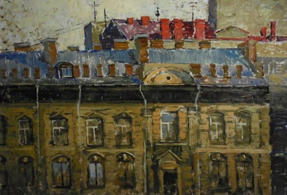 Maria Zharova. Petersburg roofs