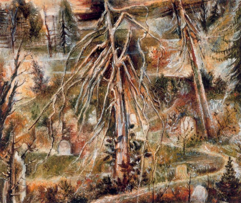 Элберт Блох. Старое дерево