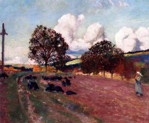 Robert Delaunay. Breton Landscape