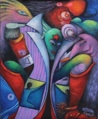 Andrey Karablin. Artist