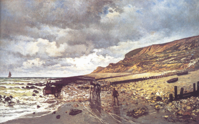 Claude Monet. Cape Heve at low tide