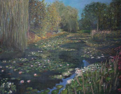 Albert Safiullin. Pond at Giverny